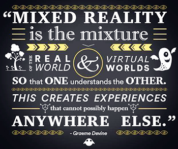 mixed reality graphic