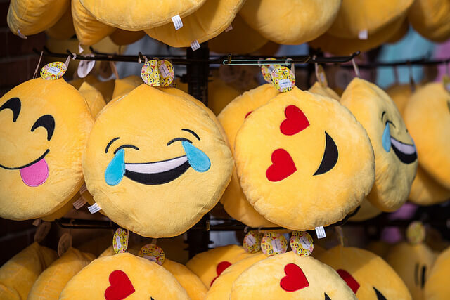 emojis on pillows