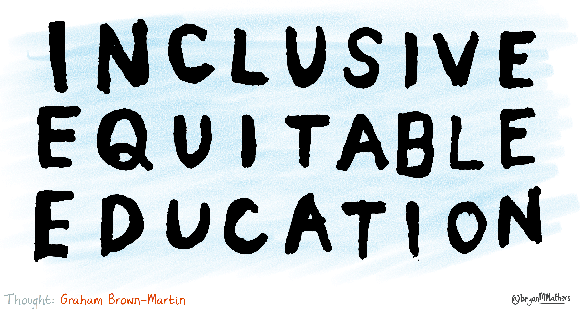 Inclusive Equitable Education graphic