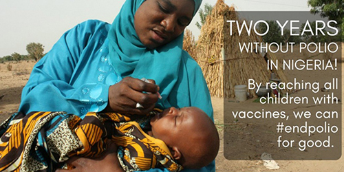 polio message