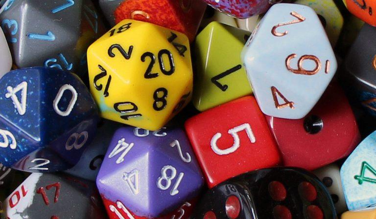 assorted dice