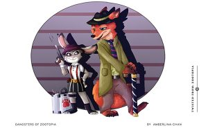 Gangsters of Zootopia By Amberlina-Chan