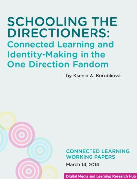 Schooling the Directioners: Connected Learning and Identity-Making in the One Direction Fandom