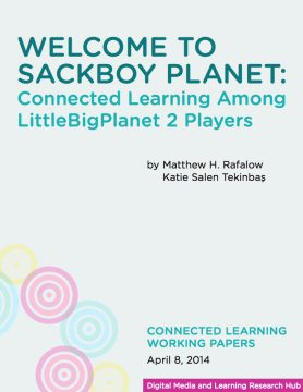 Welcome to Sackboy Planet: Connected Learning Among LittleBigPlanet 2 Players