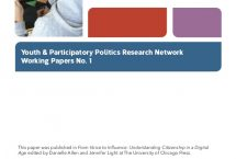 Youth, New Media, and the Rise of Participatory Politics cover page
