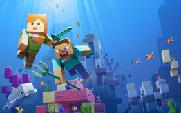 Minecraft Aquatic Game screenshot