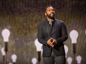 Baratunde Thurston speaks at TED Talks Live