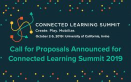 Connected Learning Summit Call for Proposals graphic