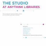 The Studio at Anythink Libraries case study cover image
