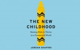 The New Childhood by Jordan Shapiro book cover