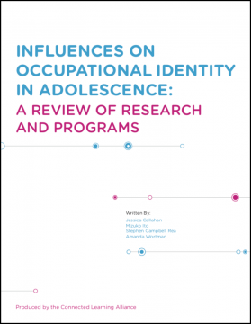 Influences on Occupational Identity in Adolescence: A Review of Research and Programs