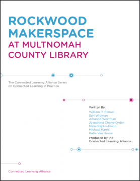 Rockwood Makerspace at Multnomah County Library