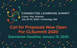 Call for Proposals for Connected Learning Summit 2020