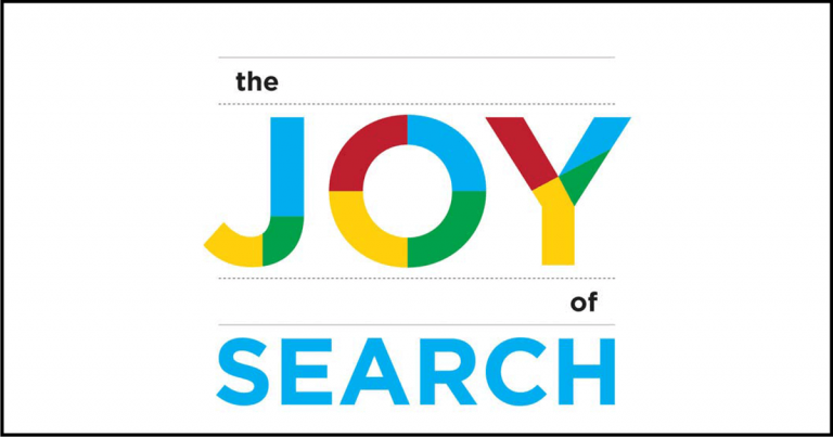 The Joy of Search blog graphic