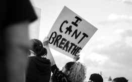 I Can't Breathe Protest Sign