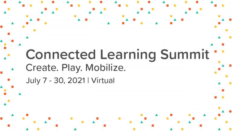 Connected Learning Summit 2021 banner