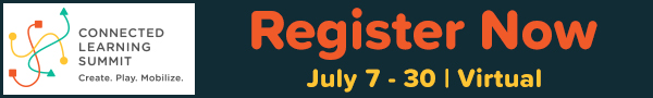 Register for Connected Learning Summit 2021 banner