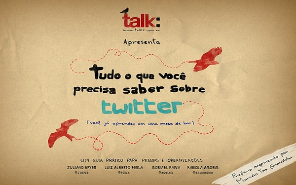 Talk twitter banner in spanish