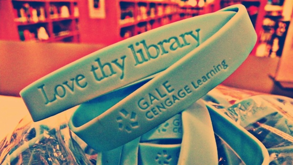 bracelet love thy library Gale Cengage learning