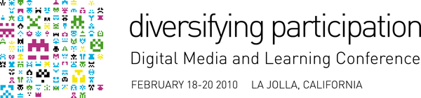DML Conference 2010 Diversifying participation logo