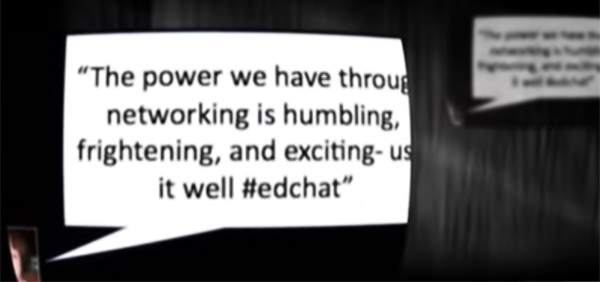 ed chat quote the power of networking responsibility