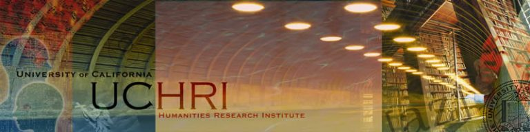 University of California Humanities research institute banner
