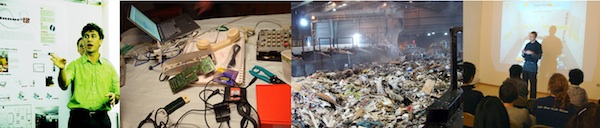pictures of presentation trash technology