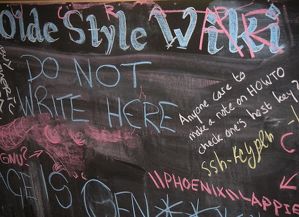 chalk board writing Olde Style Wiki